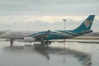 A4O-DA @ OOMS - Oman Air Airbus 330-200