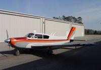 N5195P @ EZM - Before flight in 95P - by J. Michael Travis