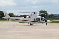 ZR322 @ EGOS - Agusta A.109E c/n 11664 - by Trevor Toone