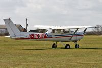 G-BDOW @ EGTC - Reims FRA150M Aerobat at Cranfield Airport in 2006. - by Malcolm Clarke