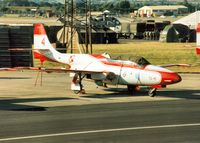 1010 @ EGVA - Aircraft number 4 of the White Iskras Polish Air Force display team on the flight-line at the 1995 Intnl Air Tattoo at RAF Fairford. - by Peter Nicholson