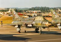 3802 @ EGVA - Su-22M-4 Fitter of 321 Squadron Czech Air Force on the flight-line at the 1995 Intnl Air Tattoo at RAF Fairford. - by Peter Nicholson