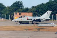 MM7131 @ EGVA - AMX of the Italian Air Force Flight Test Centre - RSV - on the flight-line at the 1995 Intnl Air Tattoo at RAF Fairford. - by Peter Nicholson