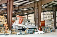 MP-103 @ SAT - Mexican Navy Albatross undergoing maintenance at San Antonio in October 1979. - by Peter Nicholson