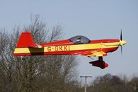G-GKKI @ EGBR - Cap 231EX - One of the many aircraft at Breighton on a fine Spring morning