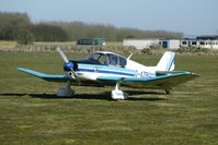 G-AZBI @ EGBR - Jodel D150 - One of the many aircraft at Breighton on a fine Spring morning