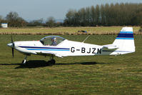 G-BJZN @ EGBR - Slingsby T67A - One of the many aircraft at Breighton on a fine Spring morning