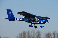 G-CEWR @ EGBR - 2008 AEROPRAKT A22-L FOXBAT - One of the many aircraft at Breighton on a fine Spring morning