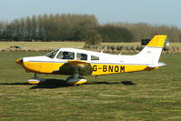 G-BNOM @ EGBR - Piper in from Blackpool - One of the many aircraft at Breighton on a fine Spring morning