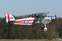 G-BZNW @ EGBR - K2048 - Isaacs Fury replica - One of the many aircraft at Breighton on a fine Spring morning