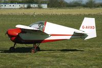 G-AVXD @ EGBR - Slingsby Nipper - One of the many aircraft at Breighton on a fine Spring morning