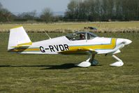 G-RVDR @ EGBR - Vans RV-6   -   One of the many aircraft at Breighton on a fine Spring morning