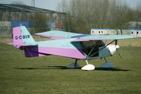 G-CBVR @ EGBR - One of the many aircraft at Breighton on a fine Spring morning