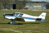 G-BACL @ EGBR - Jodel D150 - One of the many aircraft at Breighton on a fine Spring morning