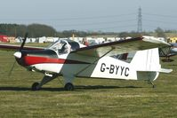 G-BYYC @ EGBR - HAPI CYGNET SF-2A - One of the many aircraft at Breighton on a fine Spring morning