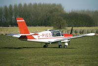 G-PIGS @ EGBR - MORANE SAULNIER RALLYE 150ST - One of the many aircraft at Breighton on a fine Spring morning