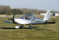 G-CBIY @ EGBR - One of the many aircraft at Breighton on a fine Spring morning