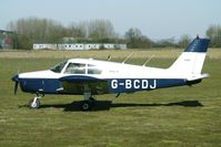 G-BCDJ @ EGBR - 1968 Piper PIPER PA-28-140 - One of the many aircraft at Breighton on a fine Spring morning