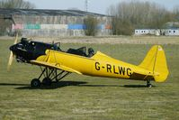 G-RLWG @ EGBR - Ryan ST3KR - ex 41-15687 - One of the many aircraft at Breighton on a fine Spring morning