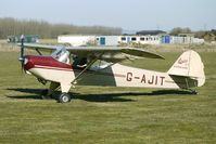 G-AJIT @ EGBR - 1946 Kingsland Aviation Ltd AUSTER KINGSLAND - One of the many aircraft at Breighton on a fine Spring morning
