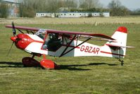 G-BZAR @ EGBR - DENNEY KITFOX 4-1200 SPEEDSTER - One of the many aircraft at Breighton on a fine Spring morning