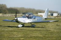 G-OTYE @ EGBR - One of the many aircraft at Breighton on a fine Spring morning