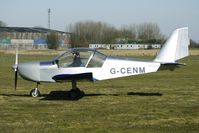 G-CENM @ EGBR - One of the many aircraft at Breighton on a fine Spring morning