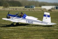 G-BAAD @ EGBR - 1973 Husband Rw EVANS VP-1 - One of the many aircraft at Breighton on a fine Spring morning