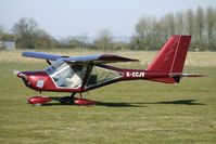 G-CCJV @ EGBR - AEROPRAKT A22 FOXBAT - One of the many aircraft at Breighton on a fine Spring morning
