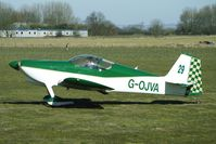 G-OJVA @ EGBR - Vans RV-6   -   One of the many aircraft at Breighton on a fine Spring morning