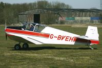 G-BVEH @ EGBR - Jodel D112 - One of the many aircraft at Breighton on a fine Spring morning