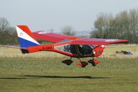 G-CBYH @ EGBR - AEROPRAKT A22 FOXBAT - One of the many aircraft at Breighton on a fine Spring morning