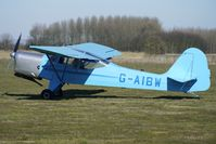 G-AIBW @ EGBR - 1946 Auster Aircraft Ltd AUSTER J1N - One of the many aircraft at Breighton on a fine Spring morning