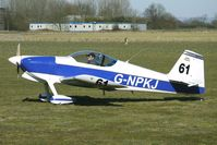 G-NPKJ @ EGBR - Vans RV-6   -   One of the many aircraft at Breighton on a fine Spring morning