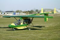 G-BUVX @ EGBR - 1994 Linney Gkr STREAK SHADOW - One of the many aircraft at Breighton on a fine Spring morning