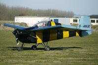 G-AWJE @ EGBR - Slingsby Nipper - One of the many aircraft at Breighton on a fine Spring morning