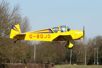G-BDJD @ EGBR - Jodel D112 - One of the many aircraft at Breighton on a fine Spring morning