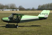 G-MWSC @ EGBR - One of the many aircraft at Breighton on a fine Spring morning