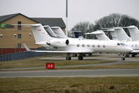 C-FHPM @ EGGW - Canadian Gulfstream IV at Luton - by Terry Fletcher
