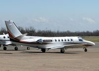 N550DW @ DTN - Parked at Downtown Shreveport.