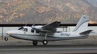 N1176Z @ KCCB - Landing flare Runway 24 - by Marty Kusch