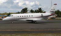 N104SG @ TNCM - Back tracking after landing at TNCM - by Daniel Jef