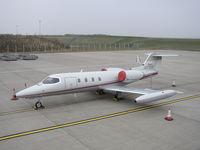 N71CK @ EGNX - Lear Jet 36A c/n 035 - by Trevor Toone