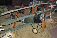 N5459 @ EGDY - Sopwith Triplane (replica) at The Fleet Air Arm Museum, RNAS Yeovilton in 1992. - by Malcolm Clarke