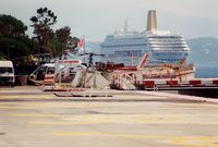 3A-MLG @ LNMC - at Monaco Heliport - by Elisabeth Klimesch