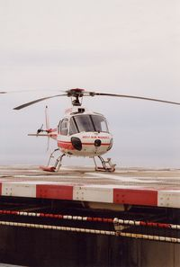 3A-MMB @ LNMC - at Monaco Heliport - by Elisabeth Klimesch