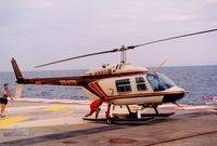 3A-MTR @ LNMC - at Monaco Heliport - by Elisabeth Klimesch