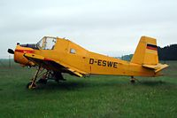D-ESWE @ EDBK - Stored at its home base of Kyritz-Brandenburg~D - by Ray Barber