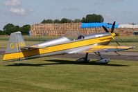 G-IIAI @ EG10 - On the flightline at Breighton. - by MikeP