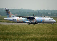 EI-REL @ LFBO - Ready for delivery flight... - by Shunn311